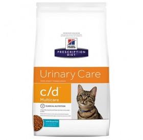 Hill's Prescription Diet™ c/d™ Multicare Feline with Ocean Fish /диетична храна за котки спомагаща при лечението на долния уринарен тракт/-1,5кг