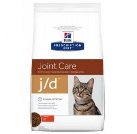 Hill's Prescription Diet™ j/d™ Feline /диета за израснали котки спомагаща при лечението на остеоартритни заболявания/-2кг