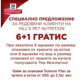Hill's™ Science Plan™ Adult Chicken /храна за израснали котки с пилешко месо/-1,5кг