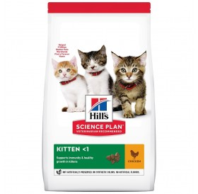 Hill's Science Plan™ Kitten Food Chicken /Храна За Подрастващи Котенца С Пилешко Месо/-300гр