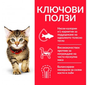 Hill's Science Plan™ Kitten Food Chicken /храна за подрастващи котенца с пилешко месо/-7кг