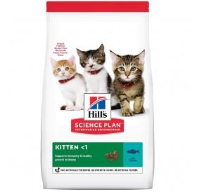Hill's Science Plan™ Kitten Food Tuna /Храна За Подрастващи Котенца С Месо От Риба Тон/-300гр