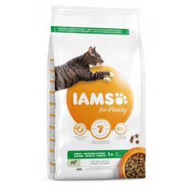 IAMS For Vitality Adult Cat Food With Lamb /Храна За Израснали Котки С Агнешко Месо/-10кг