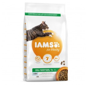 IAMS for Vitality Adult Cat Food with Ocean Fish /Храна За Израснали Котки С Океанска Риба/-10кг