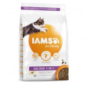 IAMS For Vitality Kitten Food With Fresh Chicken /Храна За Подрастващи Котенца С Прясно Пилешко Месо/-10кг