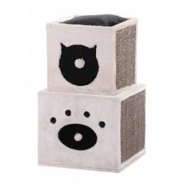 Nobby Cat Scratcher KISATO /драскалка с катерушка и къща/-40x40x70см