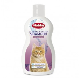 Nobby Cat Long Hair Shampoo 300ml /Шампоан За Котки С Дълга Козина/-300мл