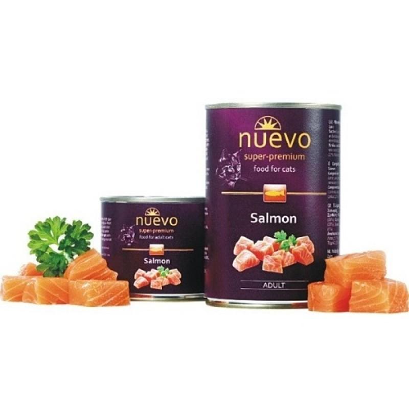 Nuevo Adult Salmon /храна за израснали котки с месо от сьомга/-400гр