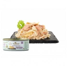Nuevo Handmade Filets Chicken&Tuna /Храна За Котки С Пилешки Филенца И Риба Тон В Собствен Сос/-70гр
