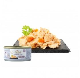 Nuevo Handmade Filets Salmon With Carrots /Храна За Котки С Филенца От Сьомга И Моркови В Собствен Сос/-70гр