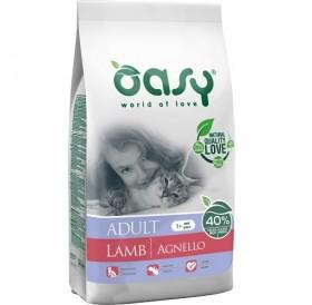 Oasy® Adult Lamb /храна за израснали котки с агнешко месо/-1,5кг