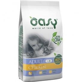 Oasy® Adult Chicken /храна за израснали котки с пилешко месо/-7,5кг