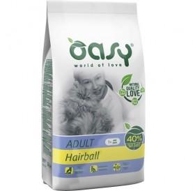 Oasy® Adult Hairball /храна за израснали котки за естествено отделяне на космените топки/-1,5кг