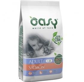 Oasy® Adult Salmon /храна за израснали котки със сьомга/-1,5кг