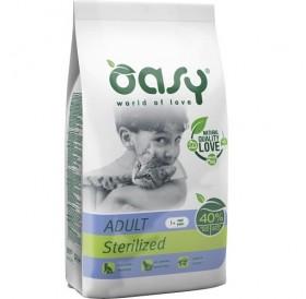 Oasy® Adult Sterilized /храна за израснали кастрирани котки/-7,5кг