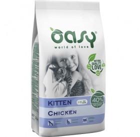 Oasy® Kitten Chicken /храна за подрастващи котенца бременни и кърмещи котки/-1,5кг