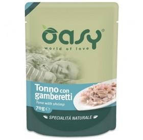 Oasy Natural Specialties Tuna With Shrimp /Храна За Котки С Месо От Риба Тон И Скариди/-70гр