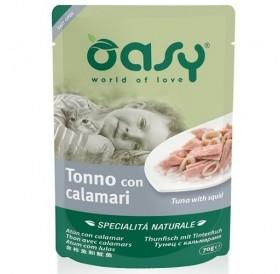 Oasy Natural Specialties Tuna With Squid /Храна За Котки С Месо От Риба Тон И Калмари/-70гр