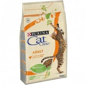Purina® Cat Chow® Adult Chicken /храна за израснали котки с пилешко месо/-15кг
