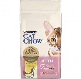 Purina® Cat Chow® Kitten Chicken /храна за подрастващи котенца с пилешко месо/-15кг
