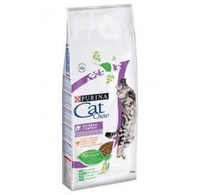 Purina® Cat Chow® Special Care Hairball Control /храна за израснали котки за естествено отделяне на космените топки/-15кг