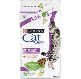 Purina® Cat Chow® Special Care Hairball Control /храна за израснали котки за естествено отделяне на космените топки/-1,5кг