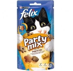 Purina® Felix® Party Mix Original Mix /лакомства за израснали котки с птичи продукти/-60гр