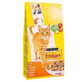 Purina® Friskies® Adult Chicken /храна за израснали котки с пилешко месо и зеленчуци/-10кг