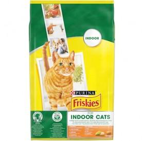 Purina® Friskies® Adult Indoor Cats /храна за израснали котки живеещи в затворени помещения с пиле и градинска трева/-10кг