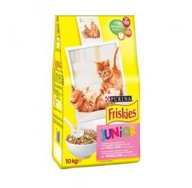 Purina® Friskies® Junior /храна за подрастващи котенца с пилешко месо/-10кг