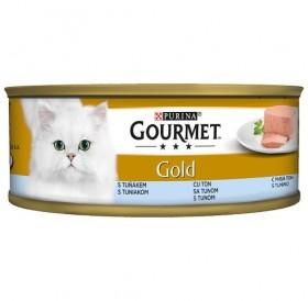 Purina Gourmet Gold Pate With Tuna /Храна За Израснали Котки Пастет Риба Тон/-85гр