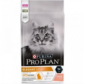 Pro Plan Cat Elegant Adult /Храна За Израснали Котки За Здрава Кожа И Красива Козина С Месо От Сьомга/-400гр