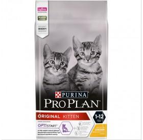 Pro Plan Original Kitten /Храна За Подрастващи Котенца И За Бременни И Кърмещи Котки С Пилешко Месо И Ориз/-400гр