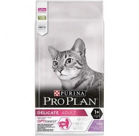 Purina® Pro Plan® Delicate Adult /храна за израснали котки с чувствително храносмилане и капризен апетит с пуешко месо и ориз/-1,5кг