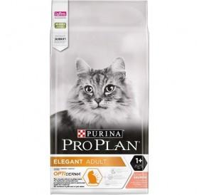 Purina® Pro Plan® Elegant Adult /храна за израснали котки за здрава кожа и красива козина с месо от сьомга/-1,5кг