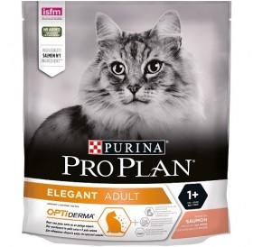 Purina® Pro Plan® Elegant Adult /храна за израснали котки за здрава кожа и красива козина с месо от сьомга/-400гр