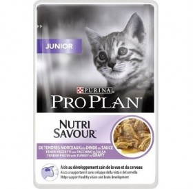 Purina Pro Plan Nutri Savour Junior with Turkey in Sauce /храна за подрастващи котенца/-85гр