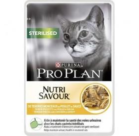 Purina Pro Plan Nutri Savour Sterilised with Chicken in Sauce /храна за кастрирани котки с пилешко месо/-85гр