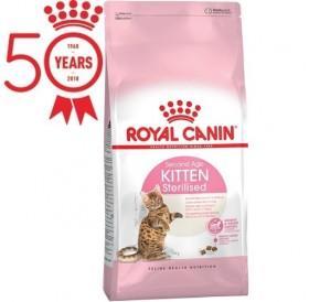 Royal Canin Kitten Sterilised /храна за кастрирани подрастващи котенца над 6м/-400гр
