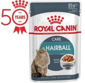 Royal Canin Hairball Care Gravy /храна за израснали котки за естествено отделяне на космените топки/-12x85гр