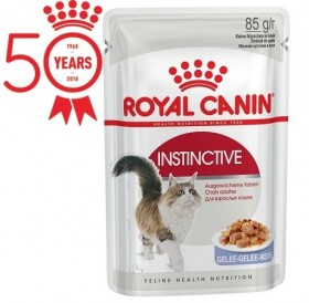 Royal Canin Instinctive in Gelee /храна за израснали котки тънки късчета в желе/-12x85гр