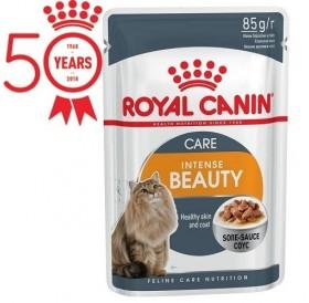 Royal Canin Intense Beauty Gravy /храна за израснали котки за красива и здрава кожа и козина/-12x85гр