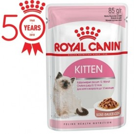 Royal Canin Kitten Gravy /храна за подрастващи котенца над 4м/-12x85гр