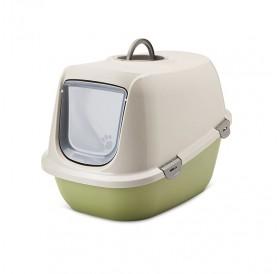 Savic Happy Planet Leo Toilet Home /Закрита Котешка Тоалетна С Филтър/-64x46x45cм