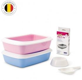 Savic® Iriz Starter Kit /стартов комплект за малки котенца/-42х31х12,5см