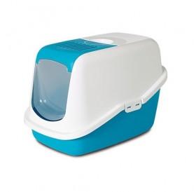 Savic® Nestor /закрита котешка тоалетна с филтър/-56x39x38,5см