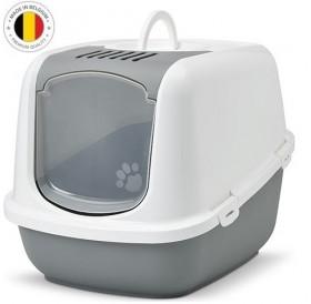 Savic® Nestor Jumbo /закрита котешка тоалетна с филтър/-66,5x48,5x46,5cм