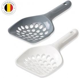 Savic® Scoop Macro /пластмасова лопатка (с борд) за почистване на котешка тоалетна (едра структура)/-11,5х22,5см