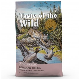 Taste Of The Wild Lowland Creek Feline Recipe with Roasted Quail&Roasted Duck /Храна За Котки С Печено Пъдпъдъче И Патешко Месо/-6,6кг
