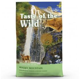 Taste Of The Wild Rocky Mountain Feline Recipe with Roasted Venison&Smoked Salmon /Храна За Котки С Печено Еленско Месо И Пушена Сьомга/-6,6кг